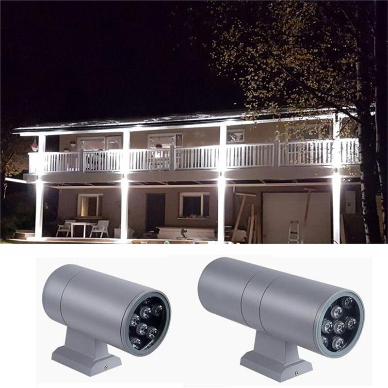 2019 Up Down Led Outdoor Wall Light Exterior Wall Sconce Lights 9w