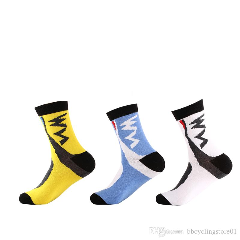 845a8e997b5 Wholesale Price   Men  Women Cycling Sock Outdoor Knee High Sport ...
