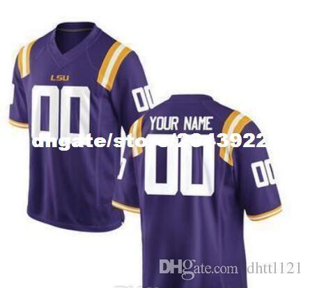 Kids' LSU Tigers Customized Purple Jersey