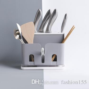 2019 Multi Function Kitchen Knife Rack Plastic Shelf Tool Storage Shelf  Chopsticks Drain Chopsticks Cage Cutlery Storage Storage From Fashion155,  ...