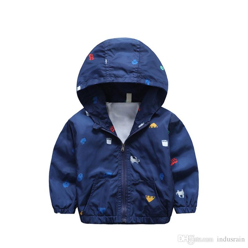 5498e115c Lovinbecia Autumn Children Casual Hooded Jackets Kids Outerwear Boys Sport  Coats Windbreaker Girls Clothing Clothes 2year 6years Kids 3 In 1 Winter  Jackets ...