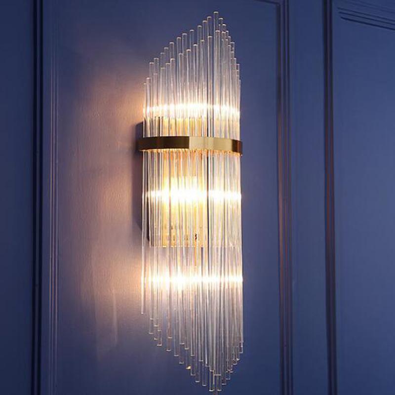 K9 Couloir Led Cristal Salon Maison Luminaires Moderne Le À Villa 54Rjq3ALc