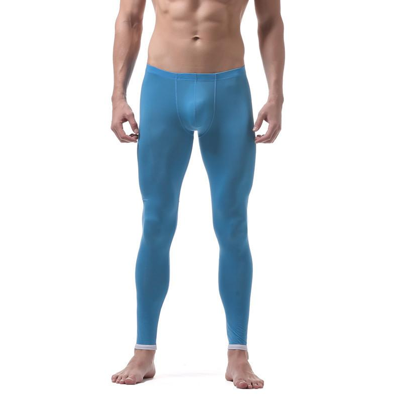 b44fef8b3 Compre Sexy Mens Calças Térmicas Homens Thermo Underwear Bottom Fino Estilo  Homem Leggings Mens Calças Quentes Para Roupas De Inverno De Boa Qualidade  De ...