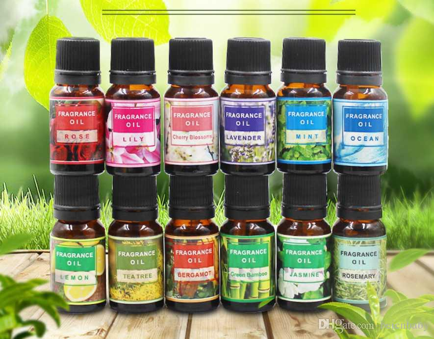 Drop Ship Essential Oils For Aromatherapy Diffusers Pure Essential Oils Organic Body Massage Relax 10ml Fragrance Oil Skin Care