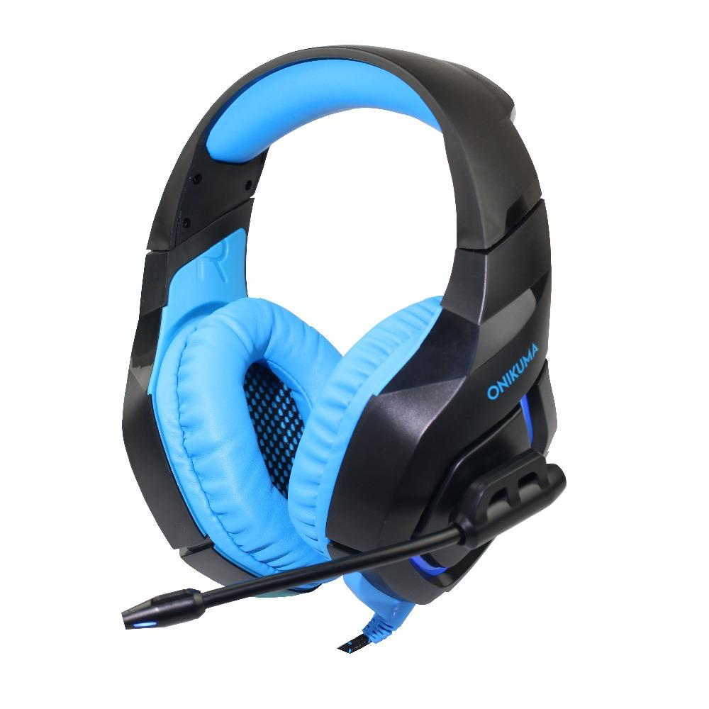 Onikuma K1 B Gaming Headset Headphones With Microphone Headphones ...