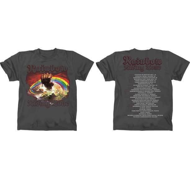 6bbe6375b358 RAINBOW Rainbow Rising 76 T SHIRT S M L XL 2XL Brand New Official Rock  Music Funny T Shirt Companies Designer Mens T Shirt From Yuxin10