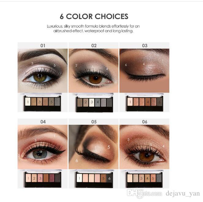 FOCALLURE Eyeshadow Palette Glamorous Smokey Eye Shadow Shimmer Colores Kit de maquillaje