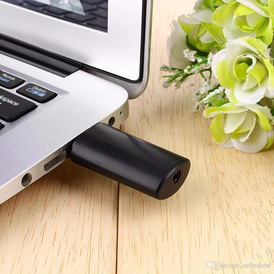 TS-BT35F05 BT USB Transmissor De Áudio Bluetooth Estéreo Sem Fio Bluetooth Music Box Dongle Adaptador para TV MPPreto