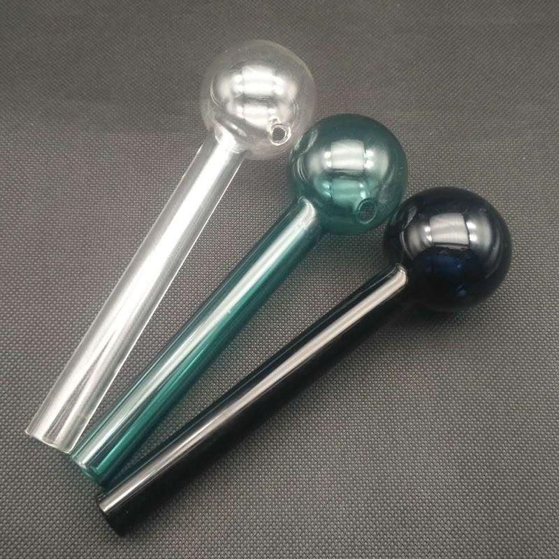 50mm Diameter big Straight smoking Oil Burner pipes honey straw dab rig glass water Bubblers Hookah vs Tobacco pipe dabber tool