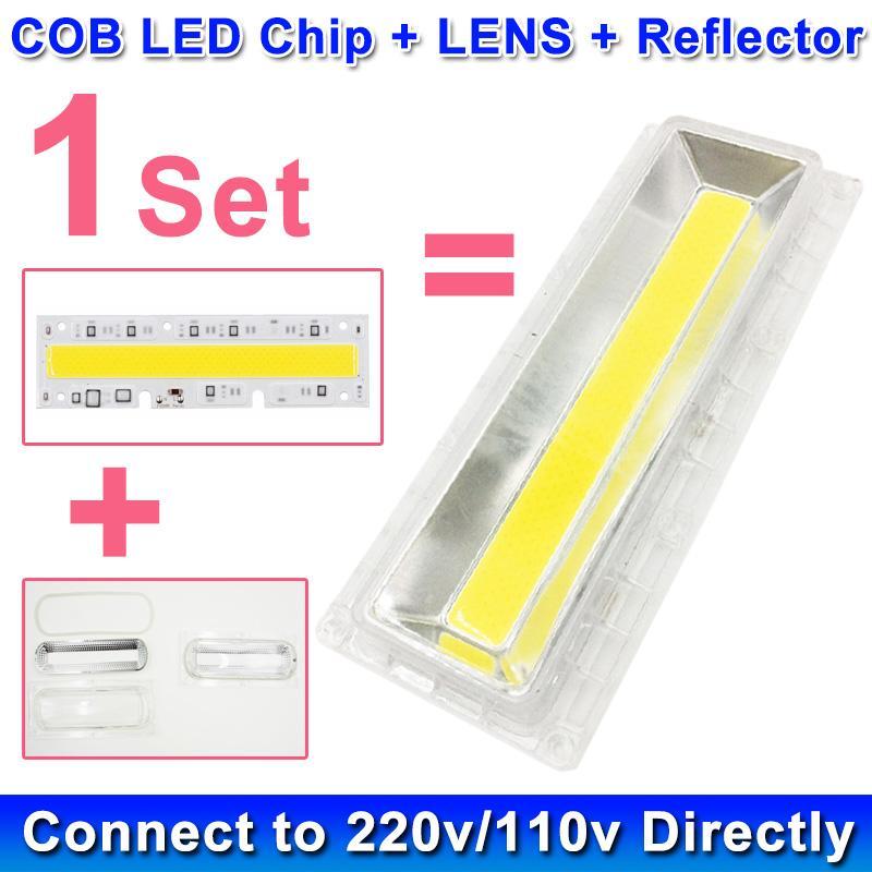 Set 220 30 100 230 Lampe Objectif 240 V 50 Ampoule Puce Led Réflecteur Cob 150 1 70 Lumière W Pour Avec D Inondation Diy OkZXuwPiTl