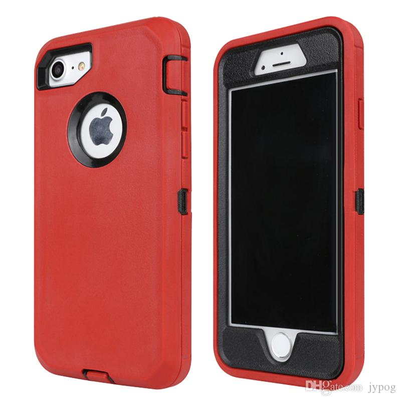 buy online 83c8f 9e62b For iPhone XS XR 3in1 Defender Case High Impact Hard Rugged Phone Case With  Swivel Belt Clip Case