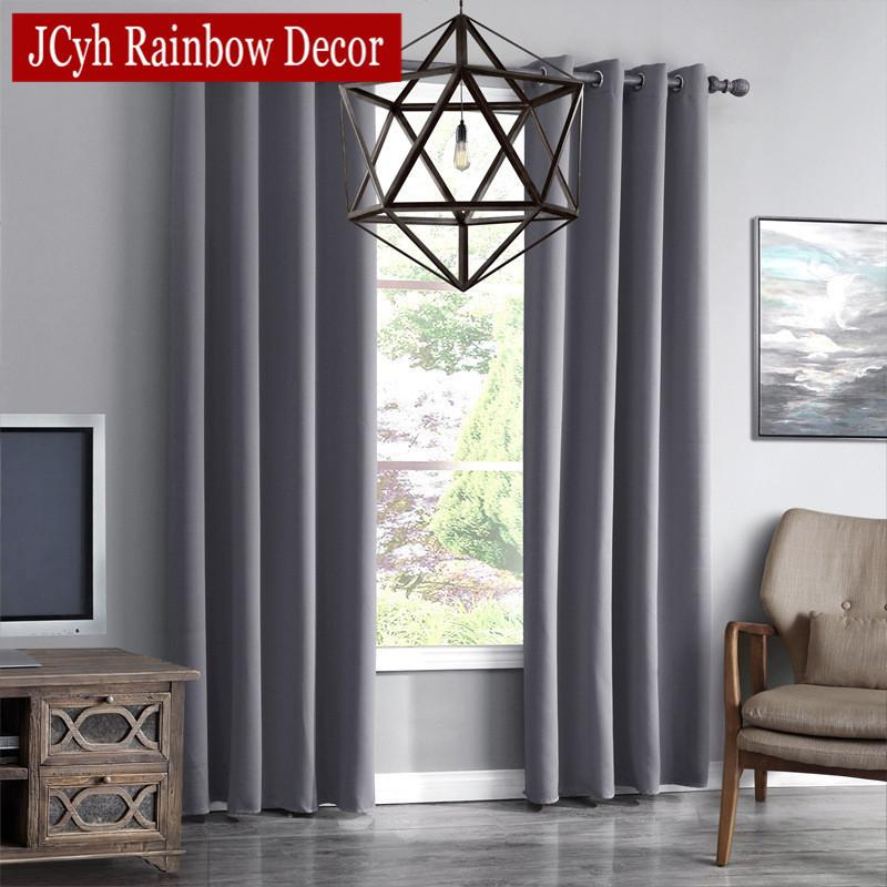 2019 Jrd Modern Blackout Curtains For Living Room Window Curtains