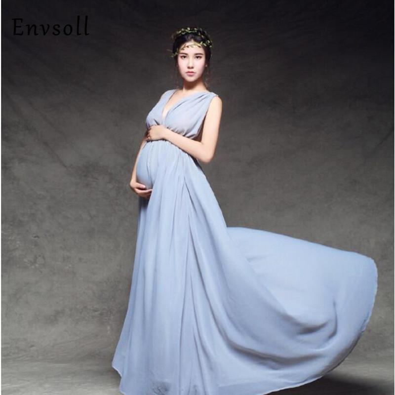 959ce8c5021b Acheter Maternité Photographie Accessoires Robes Enceintes Robes De  Maternité Séance Photo Robe De Mariage Vêtements Pour Femmes Enceintes De   53.51 Du ...