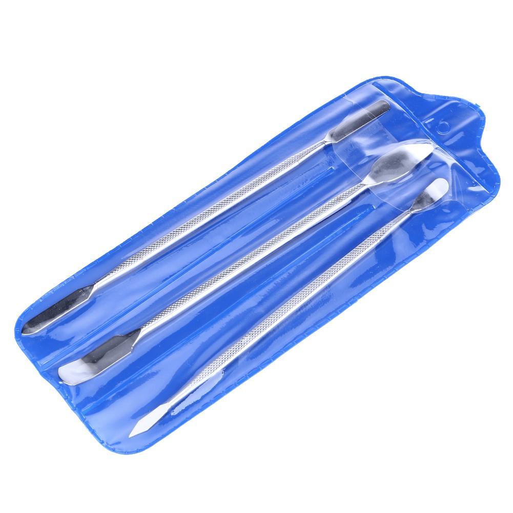 Evrensel Metal Spudger Cep Telefonu Tamir Açılış Araçları iPhone Samsung Laptop Tablet Tamir Araçları için 3 adet / takım