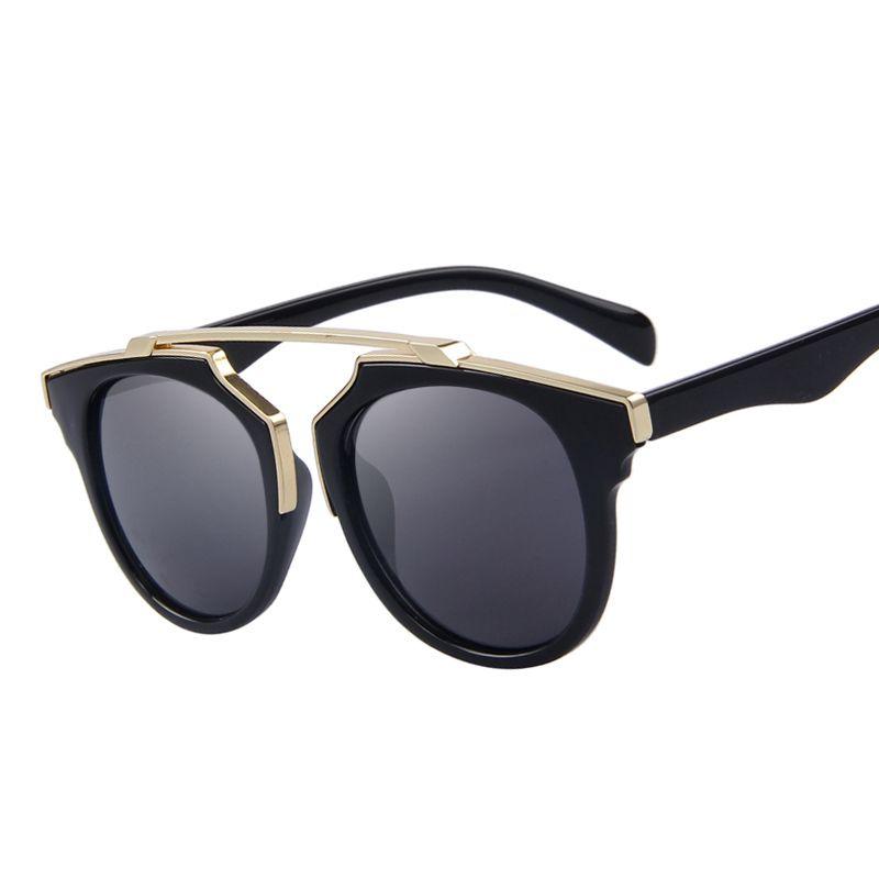 2e23edfbc 2019 New Luxury Glasses Fashion Women Cat Eye Sunglasses Gothic Eyewear  Skull Frame Metal Temple Oculos De Sol UV400 From Fahionsports, $4.83 |  DHgate.Com