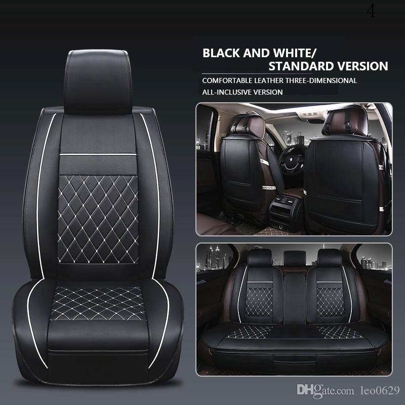 Car Seat Cover Universal Set Volvo Seat Covers Volvo C30 V40 V70 New Luxury Pu Leather Auto Universal Car Fundas Para Autos De Asientos