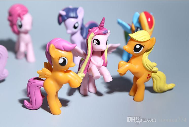 Großhandel Drop Ship My Little Pony Cartoon Film Figur Sport Ponys