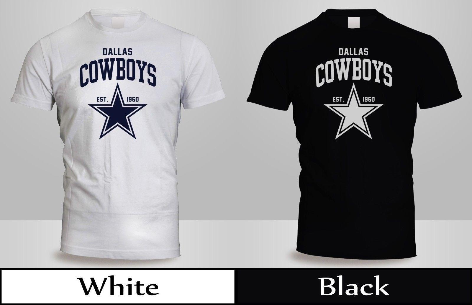 ab8a937f8 New DALLAS COWBOYS JERSEY T SHIRT Mens Black White SHirt 3 Humorous Shirts  Buy Tee Shirts From Lm32tshirt
