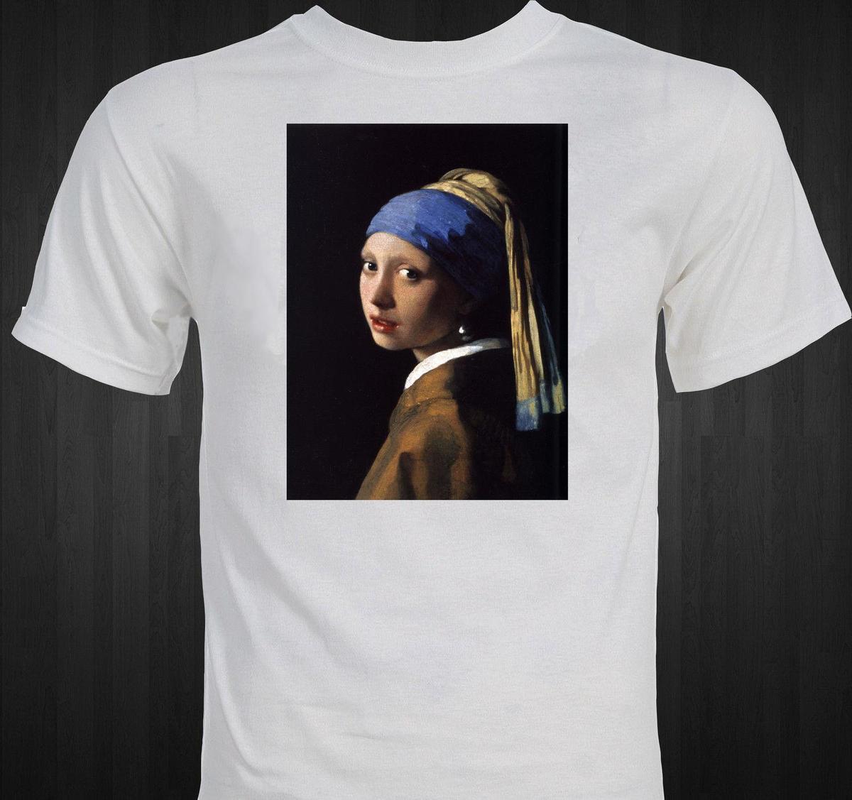 Großhandel Vermeer Mädchen Mit Der Perle Ohrring Berühmte Malerei