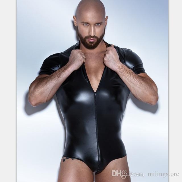 Сексуальная мужская одежда из кожи или латэкса