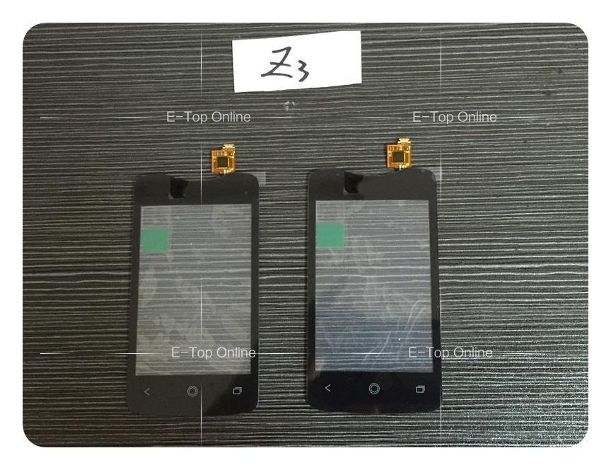 Novaphopat Black/White Sensor For Acer Liquid Z3 Z130 Touch Screen Digitizer Glass Replacement