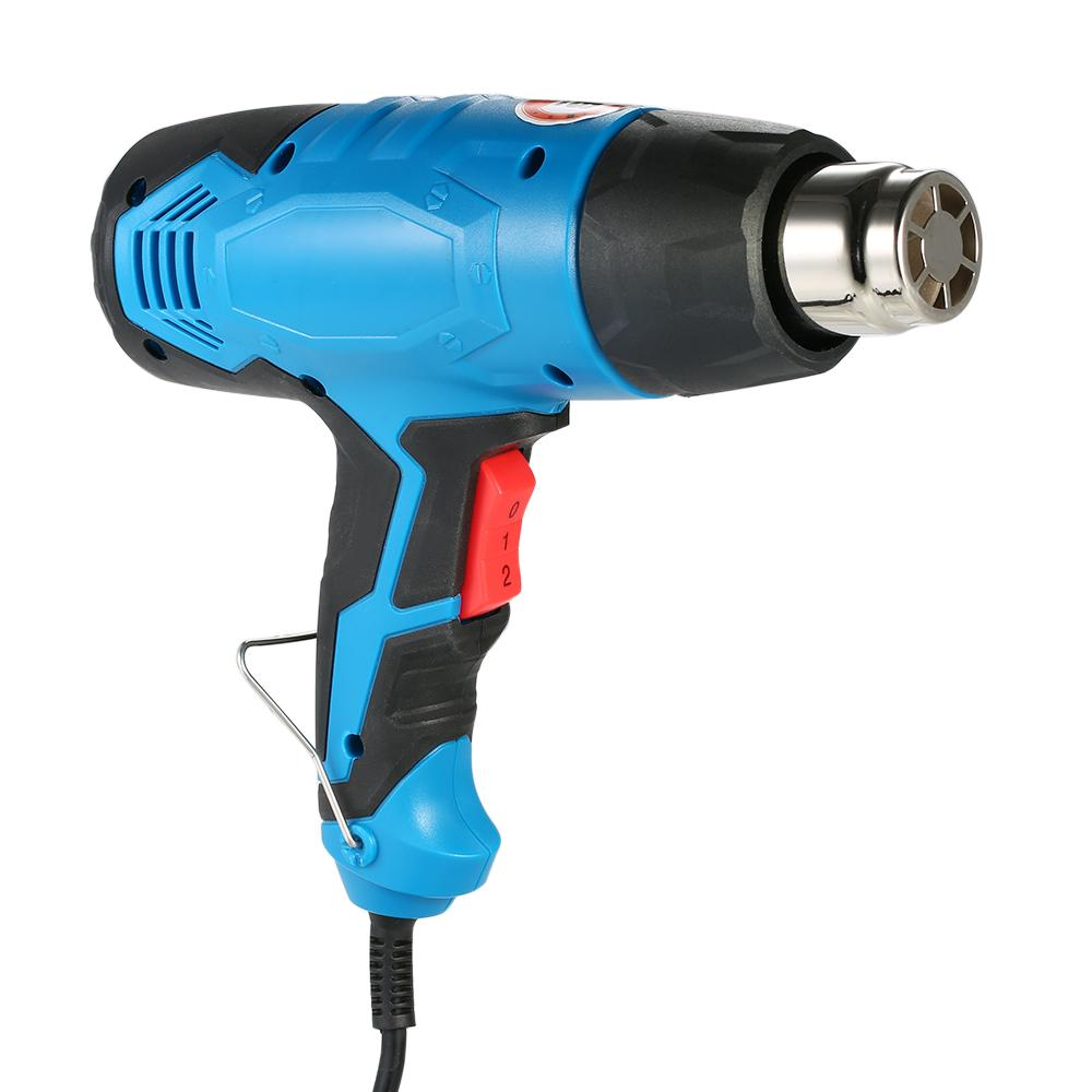 Elektrische Heißluftpistole Temperaturgesteuerte Heißluftpistole Löten Schweißen Werkzeuge Dual Temperatur Einstellbar Heißluftpistole AC220V