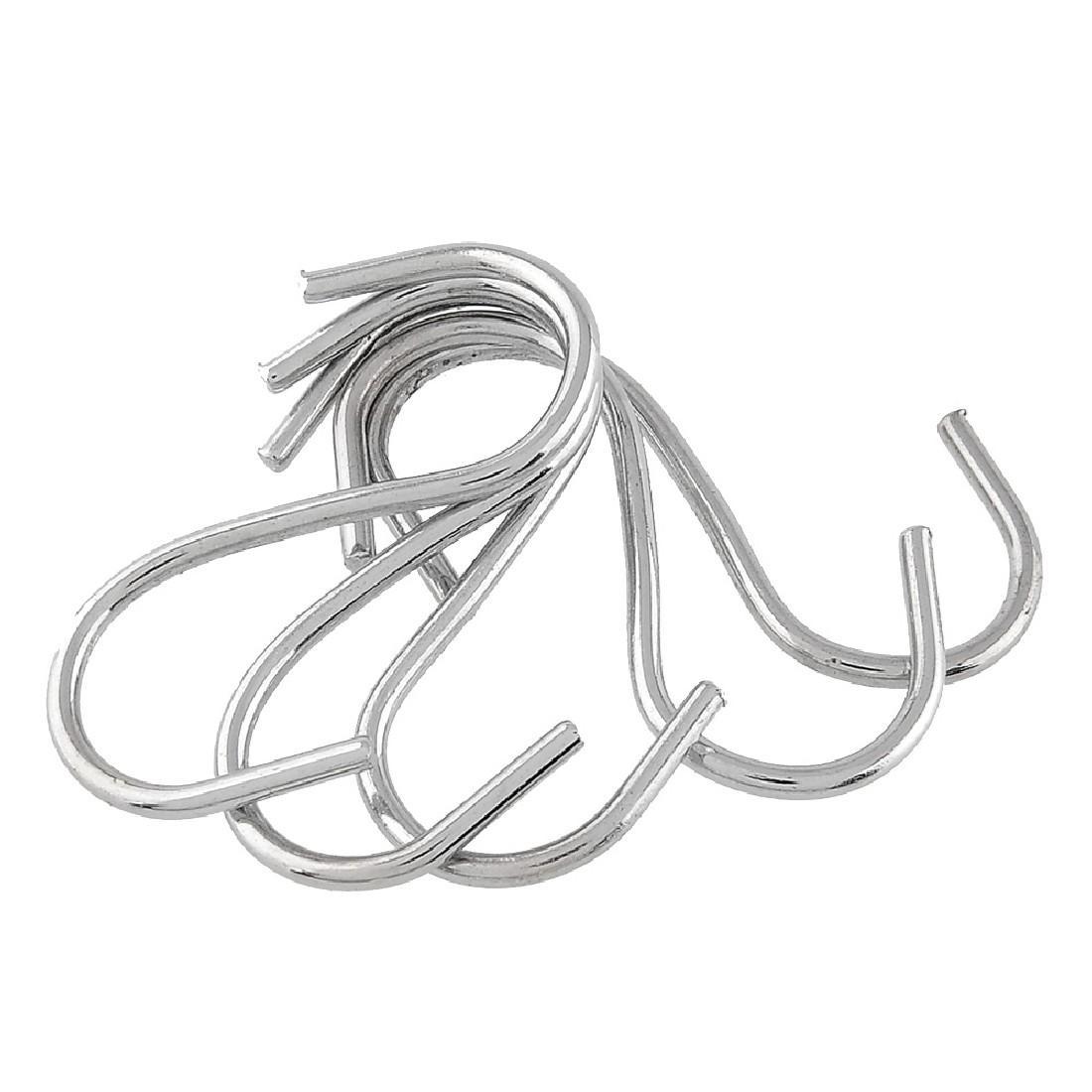 Ganchos en forma de S Colgadores de suspensión de la cocina Organizadores de almacenamiento Hogar Hogar Esencial 20 unids / set