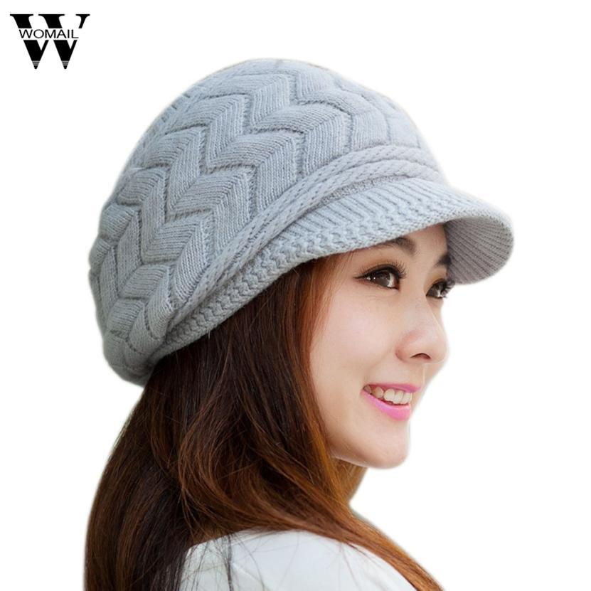 2019 Winter Hat Vintage Women Beret Cap Gorras Planas Hombre Hats Beret  Boinas Mujer 2017 New From Gocan 5ae1c997339
