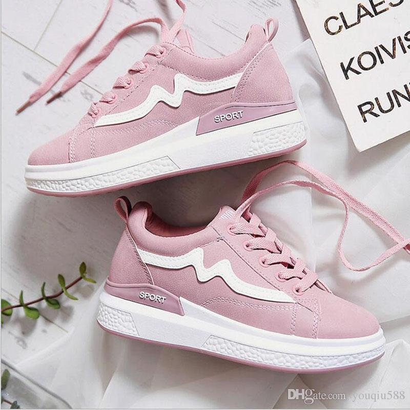 Tenis Da Moda 2018 >> 2018 Fashion Korean Women Shoes Spring Tenis Feminino Casual Shoes
