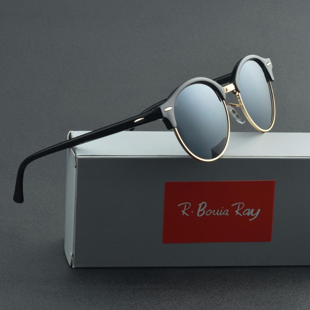 Compre Hot Bain Gafas De Sol Mujeres Popular Diseñador De La Marca Retro  Hombres Summer Style Sun Glasses Rivet Frame Colorful Coating Shades A   26.57 Del ... 970ff6cb58f3