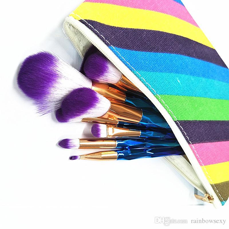 Precio de fábrica profesional 12 unids pincel de maquillaje cepillo de maquillaje facial cosmético herramientas cara y ojos pinceles de maquillaje kit con caja al por menor