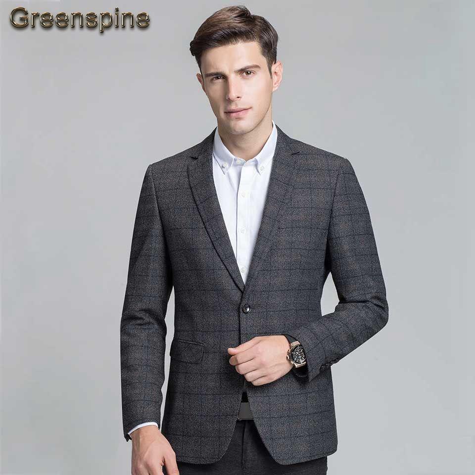 Compre Moda Para Bussiness Traje Hombre Nueva Fit Blazer Casual Slim fHqxfApw