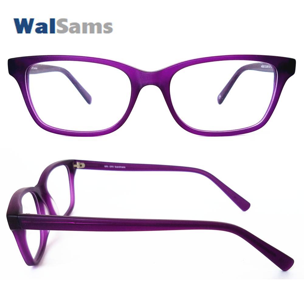 997ba981ae77 2019 Matt Handmade Acetate Eyeglasses Frames With Case Clear Lens Can  Change The Prescription Reader Lens Plain Optical Frame NPS2002 From  Ravishing