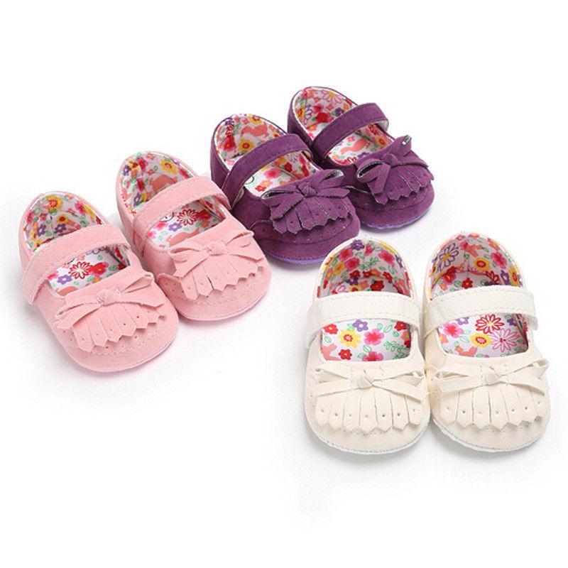 ba0c9d6be3423 Acheter Mode Casual Newly Infant Baby Gland Semelle Souple En Cuir Bow  Chaussures Garçon Fille En Bas Âge 0 18 Mois 3 Style Outfit Été De  33.89  Du Bradle ...