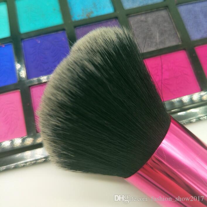 Nueva moda portátil de alta calidad de la garra del gato de belleza en forma de la herramienta del maquillaje de cepillo del maquillaje del polvo del Blusher Brush