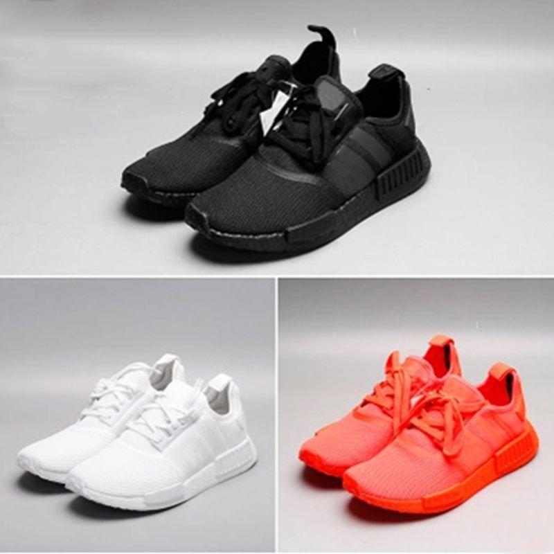 f8af256cc97da 2018 Runner R1 Mens Running Shoes OG Japan Triple S Black White Solar Red  Tri-Color Grey Men Women Primeknit Sports Sneakers Size 5-11 Running Shoes  Sports ...