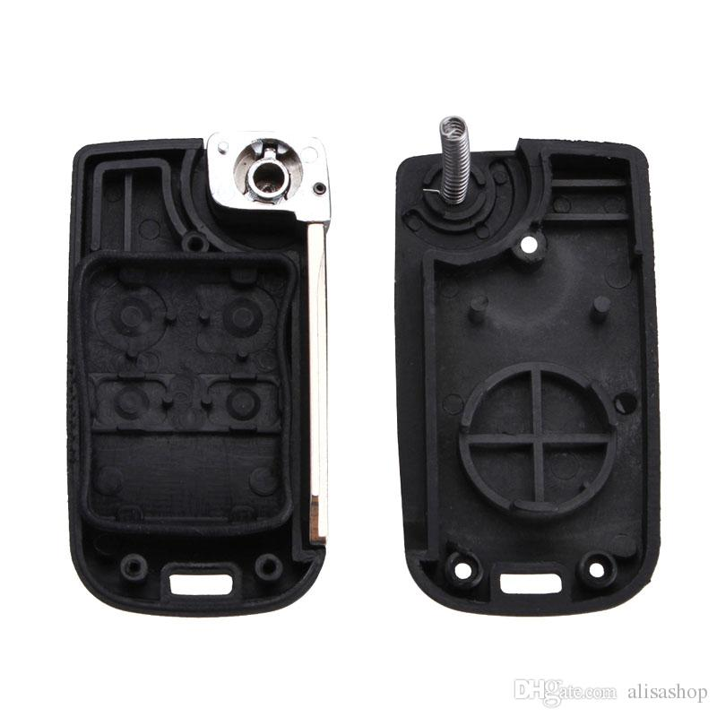 4 Button Modified Folding Remote Key Flip Fob Shell For Ford Crown Victoria Escape Expedition Explorer Explorer Sport