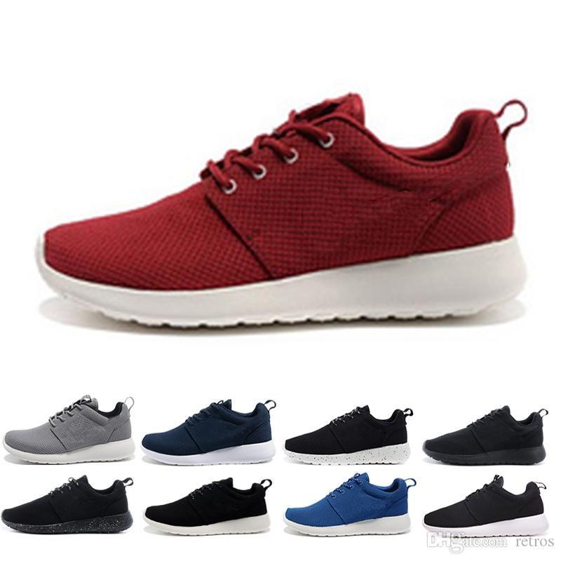super popular ac04c 57e32 Acheter Nike Air Roshe Run One 2018 Vente Chaude London Olympic Chaussures  De Course Pour Hommes Femmes Sport London Olympic Chaussures Femme Hommes  Baskets ...