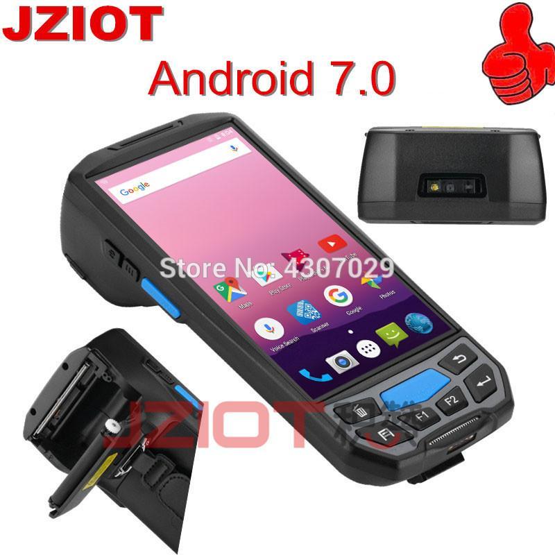 1D 2D Barcode Scanner Wireless Terminal WIFI Bluetooth QR Bar Code Scanner  GPS NFC RFID Industrial PDA
