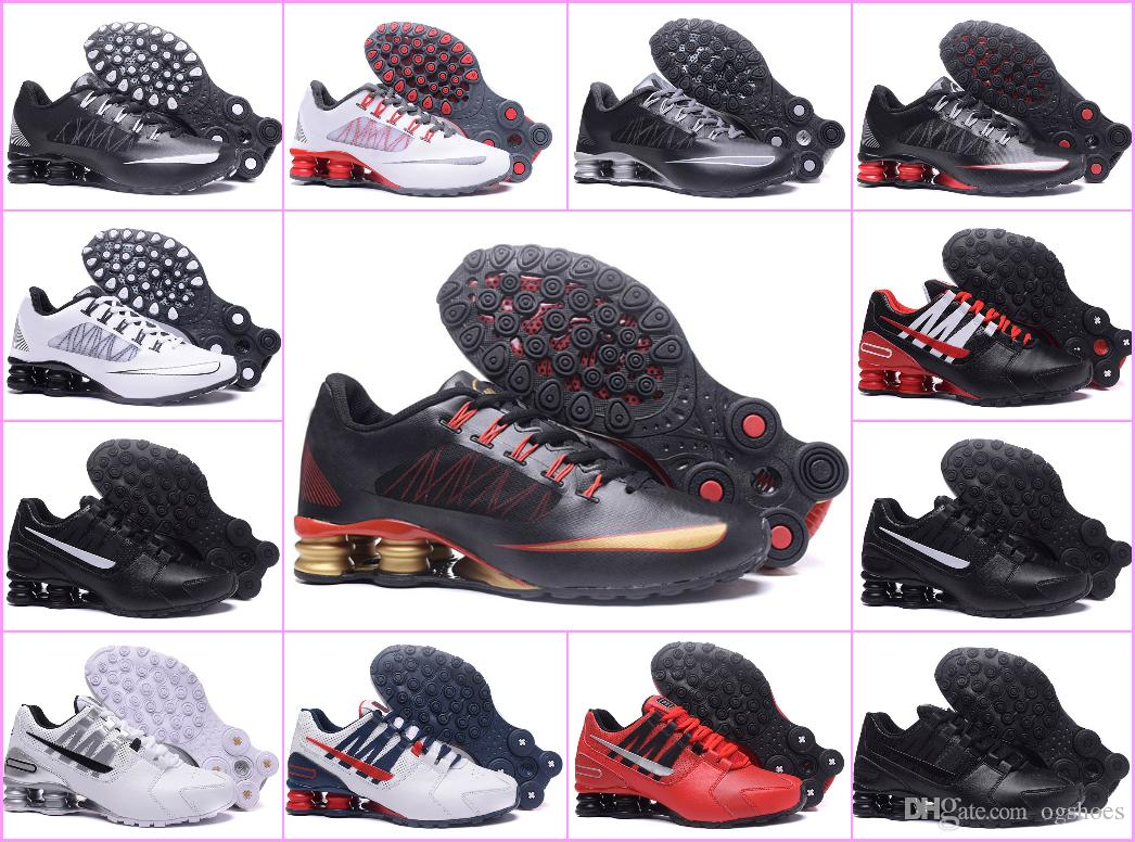 149f9bf1382 2018 NEW Original Shox Deliver Avenue 803 808 Running Shoes Top Fashion Air  TN Chaussures Shox NZ OZ Sports Maxes Sneakers Designer Shoes Mens Trail  Running ...
