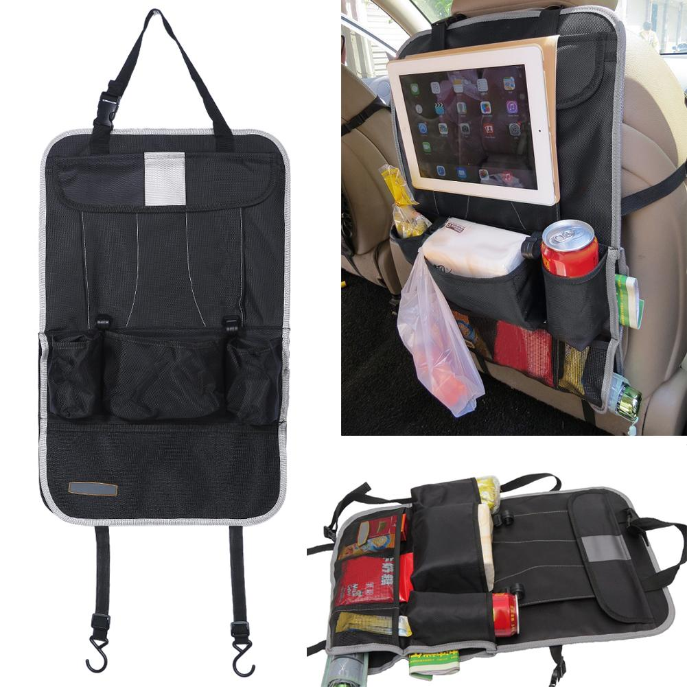 Auto Car Back Seat Organizer Holder Multi Pocket Hanging Bag