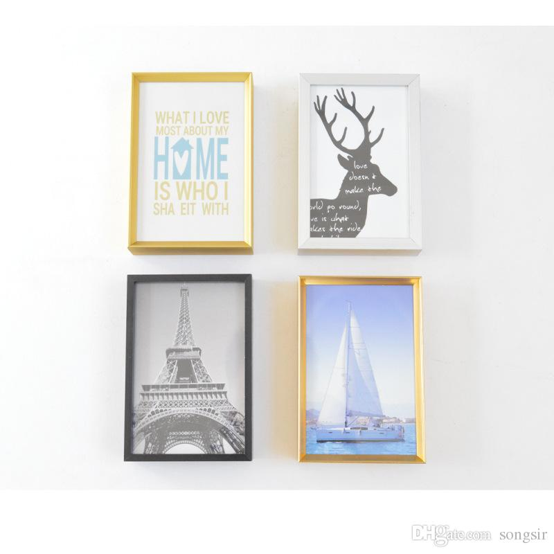 Wall Or Desk Dual Use Wood Photo Frame 5/6/7/8/10/11/12 Inch ...
