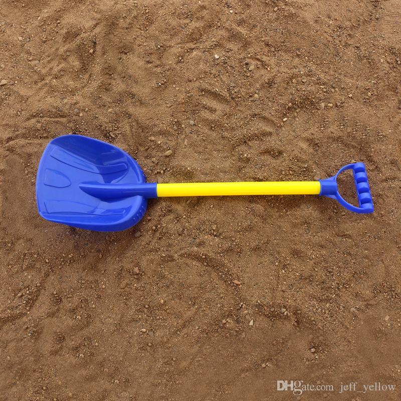 10 Children's beach toys large Thicken shovel Playing dredging Spading Tools Sandy beach Plastic shovel