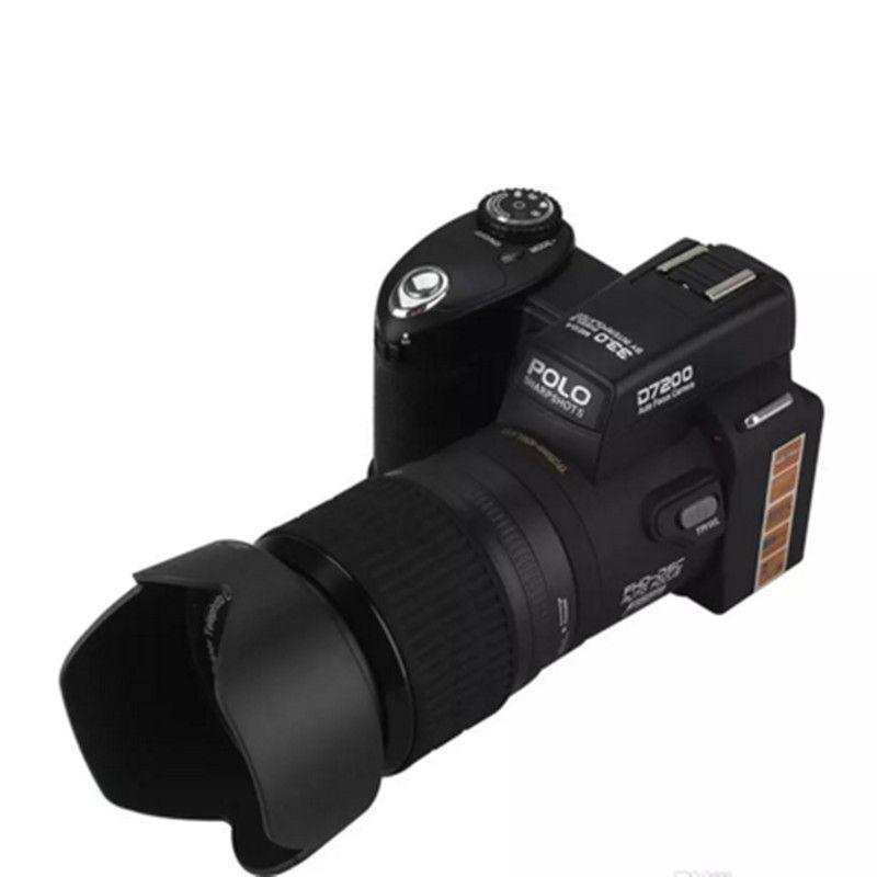 PROTAX POLO D7200 24X Zoom Óptico Câmera Digital 33MP FULL HD1080P 3 Modo Complementar de Luz Auto Foco Profissional Camcorder