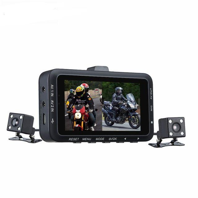 gro handel dual kamera motorrad dvr dash cam 2 7 zoll g. Black Bedroom Furniture Sets. Home Design Ideas