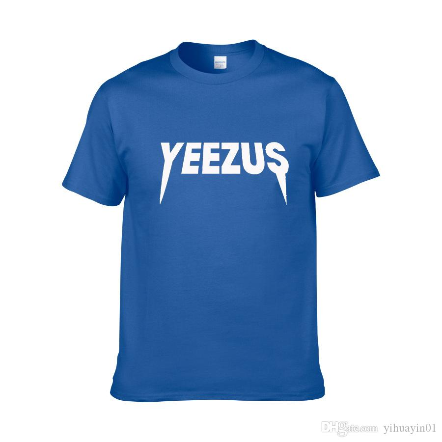 Short Sleeve T Shirt for Men and Women YEEZUS 3D Printing Tshirts Male Slim Fit Plus Size XS-XXL Hip Hop Cotton t-shirts