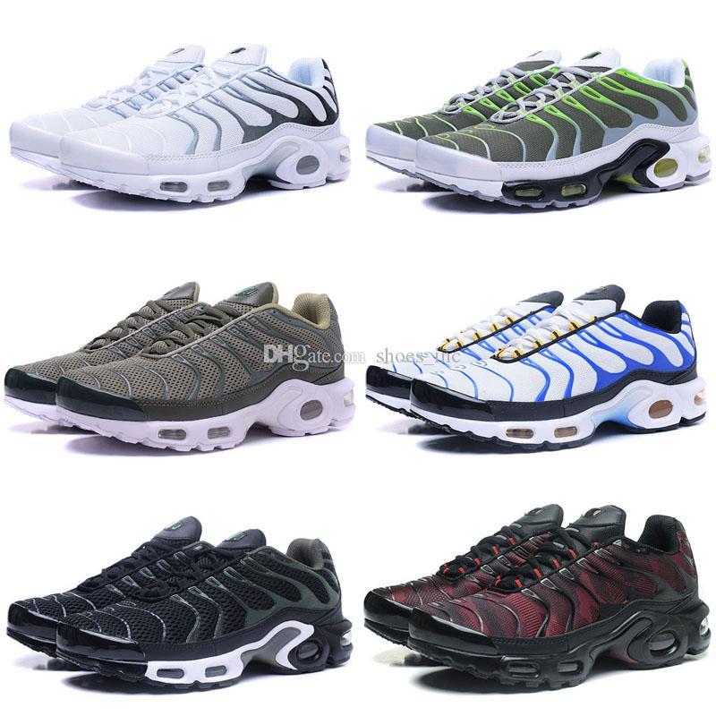 Scarpe Dimagranti i Nuovo Arrivo Di Alta Qualità Vendita Calda TN Uomo In  Esecuzione Calzature Sportive Sneakers Scarpe Ultra Kpu Uomini Scarpe Da ... c5c172b3b0c