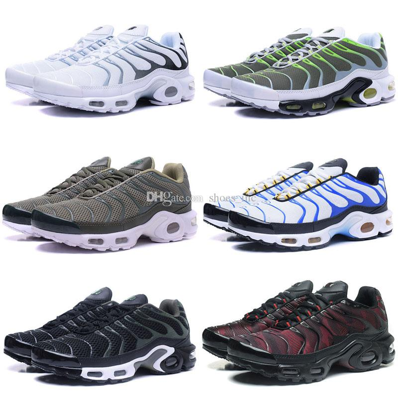 100% authentic a8aeb 07ce1 2019 New Arrival High Quality Hot Sale TN Men S Running Sport Footwear  Sneakers Ultra KPU Shoes Men TN Shoes Lace Sneakers Shoes From Shoes inc,  ...