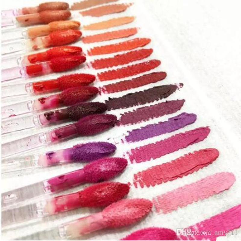 Makyaj Dudak Parlatıcısı Retro Mat Sıvı Lipcolour Lipgloss Yapışmaz Kupa Lipgloss İngilizce Adı ile Lipgloss 15 farklı renkte 5 ml