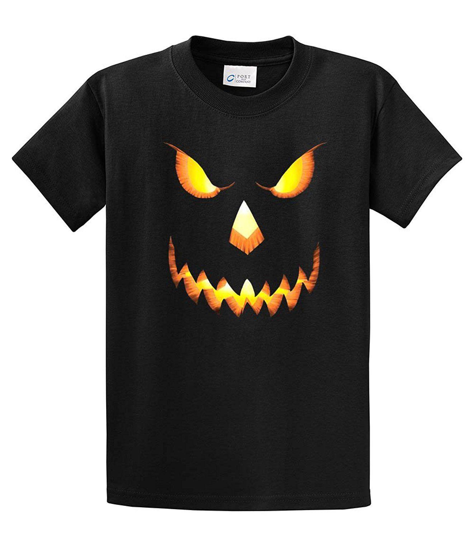 f703d8b347 Halloween T Shirts Scary Pumpkin Face Print T Shirt Mens Short Sleeve Hot  Top Tee Tee Shirts Summer Style Funny Anime Buy Online T Shirts Make Tee  Shirts ...